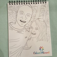 15 Page Custom Coloring Book