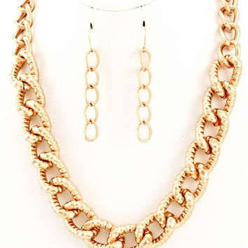 Sincerely Yours, Gold Chain Necklace