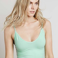 Free People Low Scoop Neck Cami