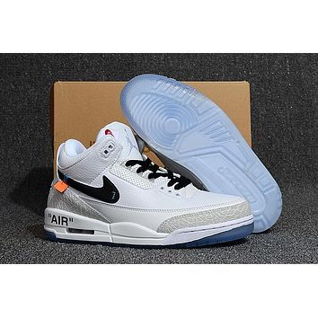 Air Jordan 3 X Off White Ow Basketball Shoes | Best Deal Online