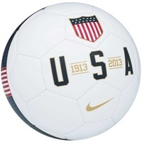 Nike USA Supporter Soccer Ball WhiteNavy DICK'S Sporting Goods