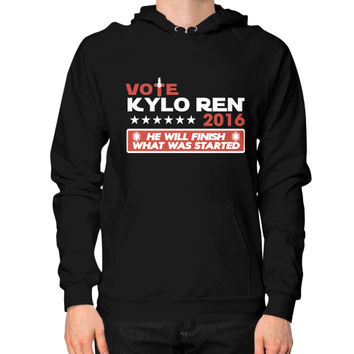 VOTE KYLO REN Hoodie (on man)