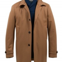 allegri - camel tan cashmere overcoat - J. Lawrence Khakis of Carmel