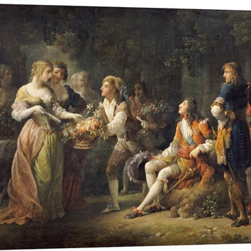 Louis XIV of France Declaring His Love