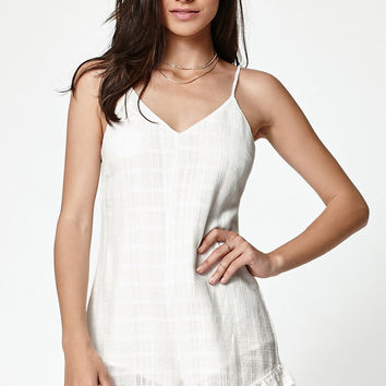 Kendall & Kylie Textured V-Neck Romper at PacSun.com