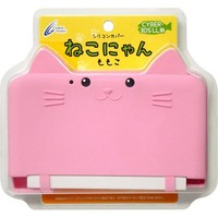 New Cat Silicon Cover Pink for Nintendo 3DS XL LL Momoko Japan Import 1013 w