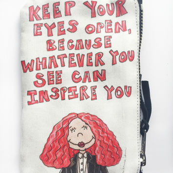 Grace Quote Coin Purse