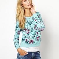 Pepe Jeans | Pepe Jeans London Floral Sweatshirt at ASOS
