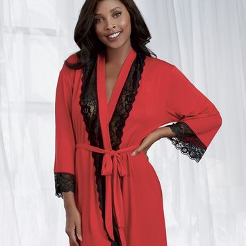 Long Sleeve Jersey Robe