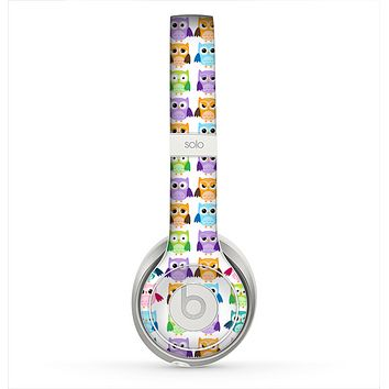 The Emotional Cartoon Owls copy 4 Skin for the Beats by Dre Solo 2 Headphones