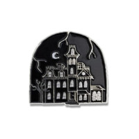 1313 Cemetary Lane Enamel Pin