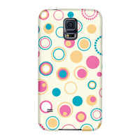 Retro Pink and Blue Samsung Galaxy S5 ColorStrong Slim-Pro Case - Cherishables