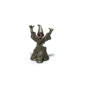 Fantasy Mythical & Magic Spoontiques Pewter Wizard Figure 1988 Fantasy Gothic Decor
