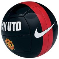 Nike Manchester United Skills Mini Soccer Ball - Black/Red - Dick's Sporting Goods