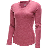 BROOKS Women's Essential II Long-Sleeve V-Neck Top