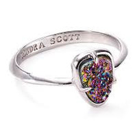 Kendra Scott Haylee Multi Drusy Ring