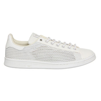 Adidas Stan Smith White Clear Brown Woven from offspring.co.uk 632161228