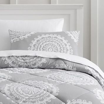 Medallion Florette Value Comforter with Sheets, Pillowcase, Comforter + Sham