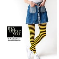 HUE BUMBLE BEE TIGHTS