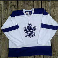 Toronto Maple Leafs Hockey Jersey CCM XL