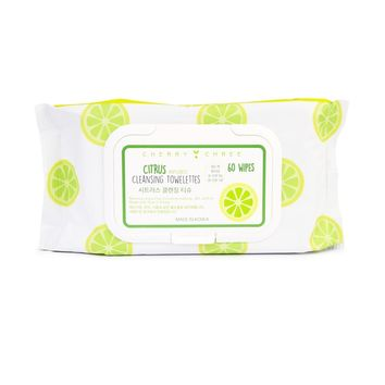 CITRUS  INFUSED CLEANSING TOWELETTES