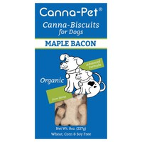 Canna-Biscuits for Dogs: Advanced Formula Maple Bacon - Organic - Canna-Pet®
