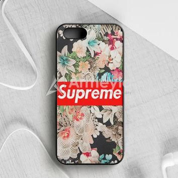 Supreme Floral iPhone 5|5S|SE Case | armeyla.com