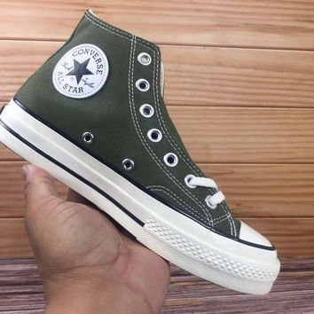 bf56b9d5aa2f46 DCCK CONVERSE 1970S 162052C CONVERSE military green soft bottom