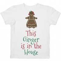 Ginger House-Unisex White Youth T-Shirt