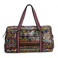 SAKROOTS ARTISTIC CIRCLE XL DUFFEL IN NEON ONE WORLD