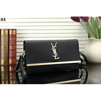 YSL 2018 new female models wild fashion flip bag shoulder diagonal female bag #4
