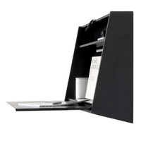 Black Floating Desk by Menu