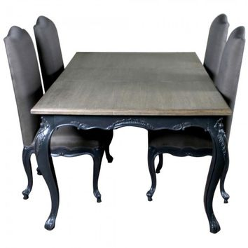 Louis French Extendable Dining Table