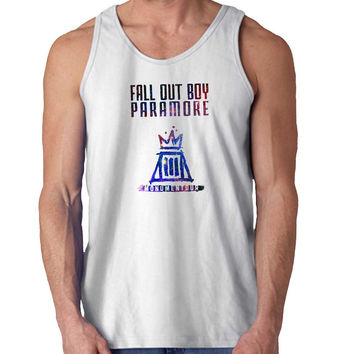 Fall out boy paramore galaxy For Mens Tank Top Fast Shipping For USA special christmas ***