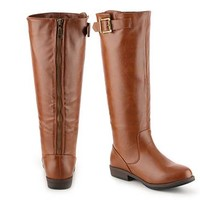 Journee Collection Amia Wide Calf Riding Boot