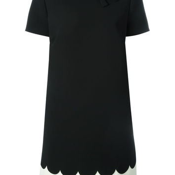 RED VALENTINO Scalloped dress