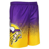 Minnesota Vikings Official NFL Gradient Polyester Shorts
