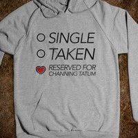 Reserved For Channing Tatum (hoodie)-Unisex Heather Grey Hoodie