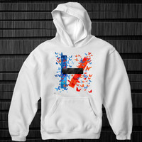 hoodie Twenty One Pilots logo for unisex adult