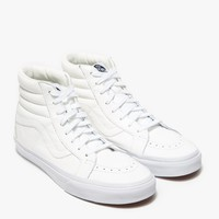 Vans / Sk8-Hi Leather in True White