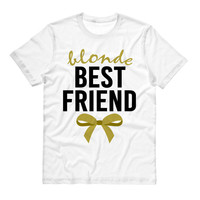 Blonde Best Friend Bow Shirt