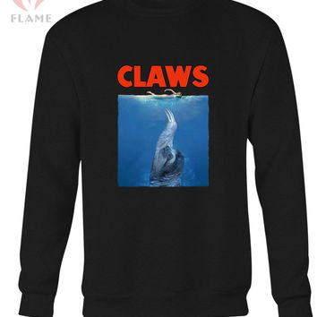 Funny Sloth Jaws Long Sweater