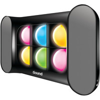 Dreamgear Iglow Pro Bluetooth Speaker With Dancing Lights & Rechargeable Battery (black)