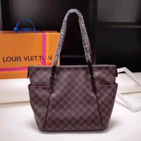 DCCK LV Louis Vuitton DAMIER CANVAS Totally HANDBAG TOTE BAG