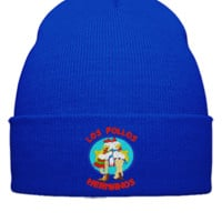 Los Pollos Hermanos Embroidery - Beanie Cuffed Knit Cap