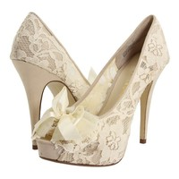 wedding lace shoe