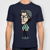 Otacon Sprite - Metal Gear Solid 2 / Sons of Liberty T-shirt by Shea Kennedy | Society6