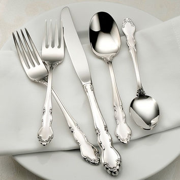 Oneida Dover 45 Piece Fine Flatware Set, Service for 8