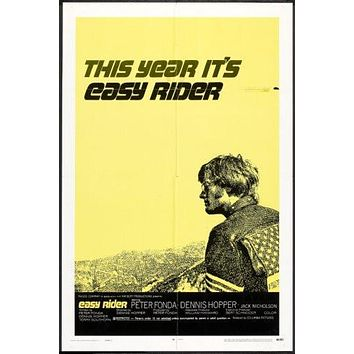 Easy Rider Movie Poster 24x36