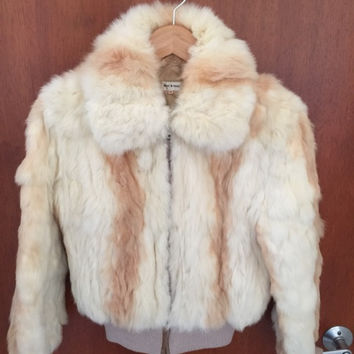 Authentic Rabbit Fur Jacket (Vintage)